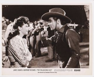 Rare Orig 1939 Oklahoma Kid Movie Still James Cagney Humphrey Bogart - Dominant
