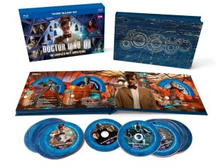 Doctor Who: The Complete Matt Smith Years (bluray) Collectors Box Set (rare)