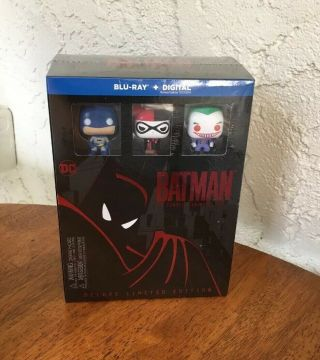 Batman Complete Animated Series Deluxe Limited Edition Blu - Ray Rare