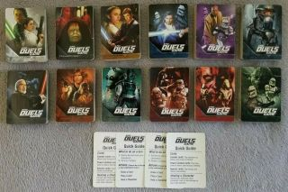 Rare Star Wars Epic Duels Board Game 2002 - Complete Replacement Cards 378total