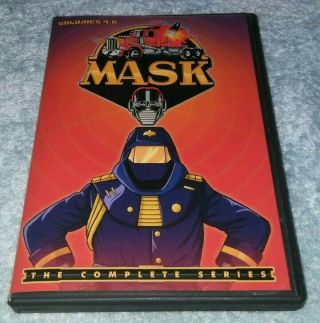 Mask - The Complete Series Volumes 4 5 & 6 Dvd Rare
