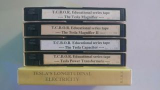 Tcbor Tesla Coil Builders Of Richmond Video Library High Voltage Vhs Rare