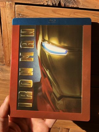 Iron Man Futureshop Steelbook Blu - Ray Rare