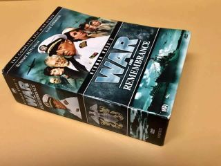 Rare Oop War And Remembrance Dvd Epic Mini Series Complete 12 Discs Dvd