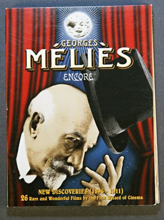 Georges Melies Encore Dvd With 26 Rare Films From 1896 - 1911 2010