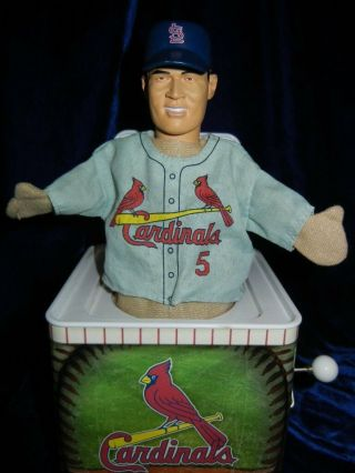 Animated St.  Louis Cardinals Jack In The Box Albert Pujols 5 Rare 2005