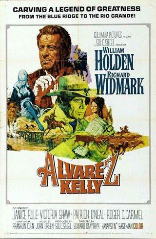 Rare 16mm Feature: Alvarez Kelly (cinemascope) William Holden / Richard Widmark