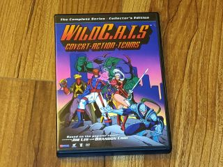 Wildc.  A.  T.  S.  - The Complete Series Dvd,  2005,  Collectors Edition - Rare,  Oop