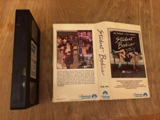 Student Bodies Vhs,  1980s Horror Comedy Rare Paramount Video 80s