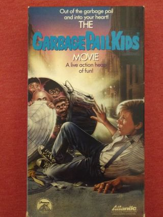 Garbage Pail Kids Movie Vhs - Rare Horror Cult Comedy Sleaze Punk Gore Cards Gpk