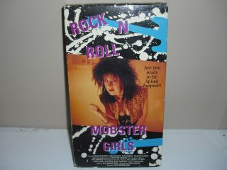 Rock N Roll Mobster Girls Vhs Doll Squad 1992 Rare