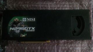 Rare Nvidia Geforce Gtx 295 Rev.  1.  1792mb Dual - Gpu Graphics Card