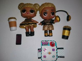 Lol Surprise Doll King Bee & Queen Bee Dolls Rare No Ball