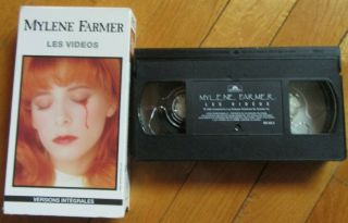 Mylene Farmer Rare Vhs Canada Les Videos Ntsc - Promo - Copie Promotionnelle 1993