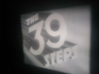 8 Film The 39 Steps (1935) Rare Alfred Hitchcock Feature 400ft Reels X 4