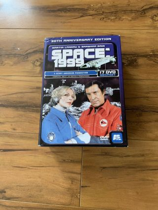 Space 1999: 30th Anniversary Edition (dvd,  2007,  17 - Disc Set) Complete Rare