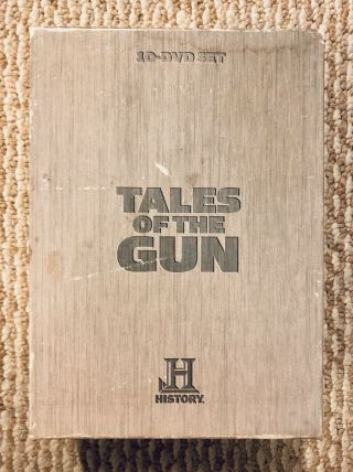 History Channel Presents Tales Of The Gun A&e Home Video (10 - Disc Set) Rare Oop