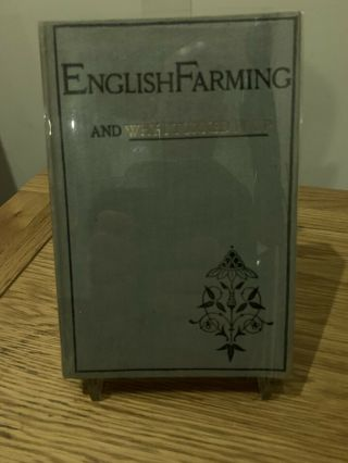 Rare English Farming And Why I Turned It Up Ernest Bramah First Edition 1894