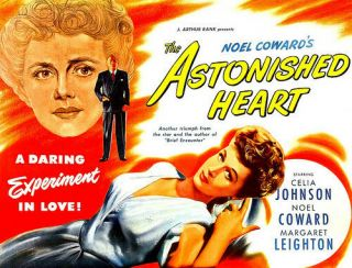 Rare 16mm Feature: The Astonished Heart (noel Coward / Celia Johnson) British