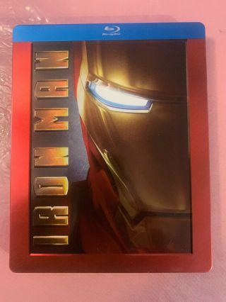 Iron Man Blu - Ray Steelbook 2 - Disc Set 2008 Future Shop Exclusive Oop Rare