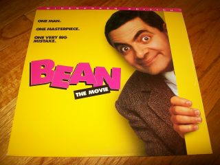 Bean: The Movie Laserdisc Ld Widescreen Format Rare Mr.  Bean