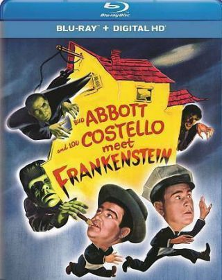 Abbott & And Costello Meet Frankenstein (& Dracula & The Wolfman) Rare Blu Ray
