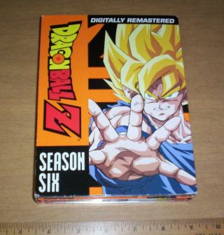 Dragon Ball Z - Season 6 (dvd 2008,  6 - Disc Set,  Uncut Digipak) Dragonball Rare