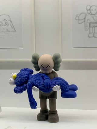 Kaws 'gone' Vinyl Companion Figure - Ngv