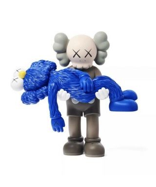 Kaws Gone Vinyl Figure (brown) Limited Edition - Blue
