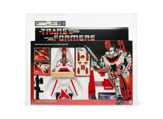 1985 Hasbro G1 Transformers Series 2 Jetfire Afa 85 Misb On Both Sides