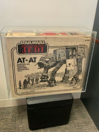 Rare Vintage Star Wars At - At Walker Afa 80 Q Rotj Return Of The Jedi Atat Esb
