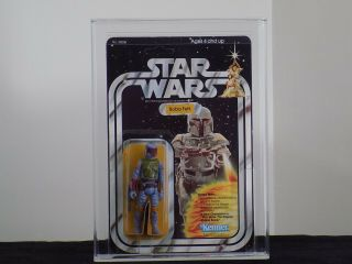 1979 Kenner Star Wars 21 Back - B - Boba Fett Unpunched - Afa 80 80/80/85