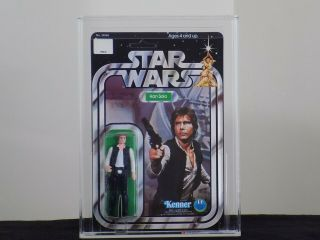 1978 Kenner Star Wars 12 Back - C Han Solo Unpunched Afa 85 80/85/85