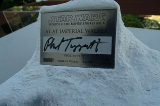 Star Wars Imperial Tt - At Walker By Phil Tippett Signature Edition 4 Of 750.