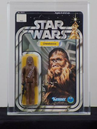 1978 Kenner Star Wars 12 Back - A - Chewbacca - Unpunched Afa 85 85/80/85