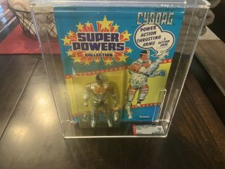 1986 Kenner Powers Cyborg Series 2 /33 Back Afa Graded 80 Nm Unpunched