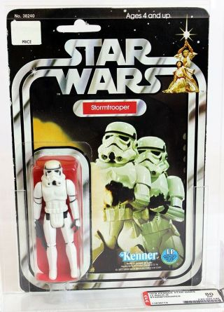 1978 Vintage Kenner Star Wars 12 Back - B Stormtrooper Afa 80 Nm 11636774 Nr