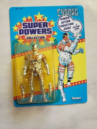 Powers Cyborg Action Figure By Kenner