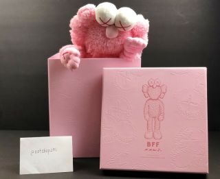 In Hand Kaws Bff Pink Plush 2019 Release Le 3000 1818 100 Authentic