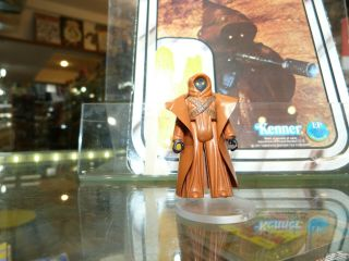 1977 Vintage Star Wars Kenner Vinyl Cape Jawa L@@se With Weapon