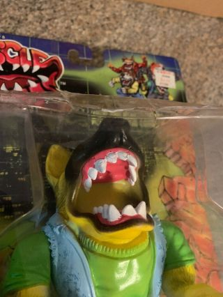 1997 Street Wise Designs Muscle Mutts SUGAR TOOTH Figure RARE Street Sharks 10