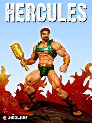 Custom Marvel Legends Classic Hercules Figure By The Legendary Loosecollector