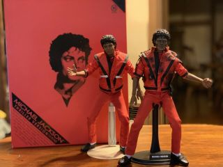 Hot Toys 1/6th Scale Michael Jackson Thriller 2x True Type Bodies W/extra Stand
