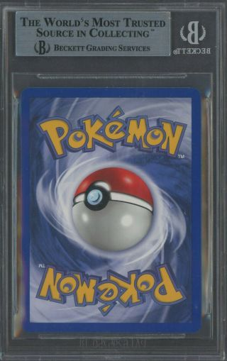 1999 Pokemon Base 1st Edition Shadowless Thick Stamp 4 Holo Charizard BGS 9 2