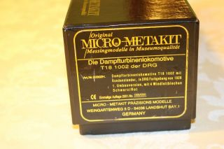 MICRO METAKIT HO BRASS DRG BR T18 1002 Messing - Modelle,  Laiton - RARE 28/50 9