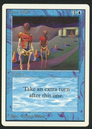 1x Unlimited Time Walk (roller Line) Mtg Unlimited - Kid Icarus -