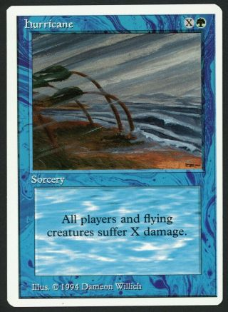 1x Summer Magic (edgar) Blue Hurricane Mtg Summer Magic - Kid Icarus -