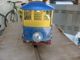 Lionel 1100 Rapid transit Summer trolley Standard and figures 1910? 2