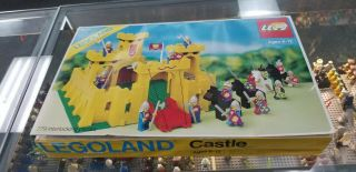 6075 Lego Classic Castle Vintage 1981 Yellow
