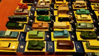 61 ORIG MATCHBOX SERIES 1950's MOKO LESNEY w/ ORIG BOX es 1950 1960 DIE CAST CAR 9